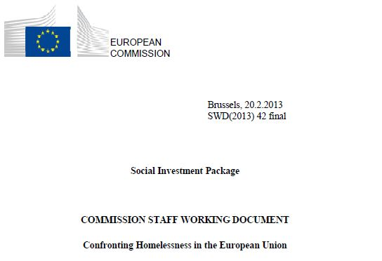 Confronting Homelessness in the European Union