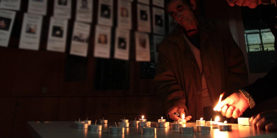 """""""Moltes de les persones que avui recordem han mort al carrer"""""""