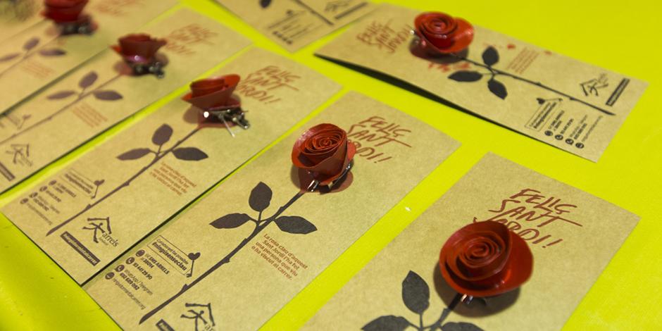 Roses d'Arrels per a Sant Jordi
